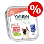 12 x 100 g Yarrah Bio Paté / Chunks till sparpris!