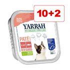 12 x 100 g Yarrah Bio Pate / Chunks erikoishintaan!