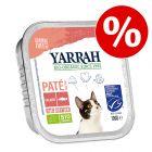 12 x 100 g Yarrah Bio Pate / Chunks  à prix avantageux !