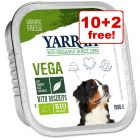 12 x 150g Yarrah Organic Grain-Free Wet Dog Food - 10 + 2 Free!*