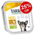 12 x 150g Yarrah Organic Wet Dog Food - 25% Off!