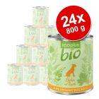 24 x 800 g zooplus Bio výhodné balení