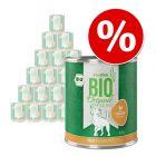 24 x 800 g zooplus Bio zum Sonderpreis!