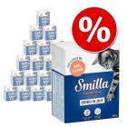 24 x 370g/380g Smilla Chunks Tetra Pak Wet Cat Food - Special Price!*