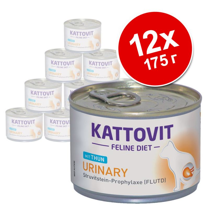 12 x 175 г Kattovit Urinary