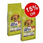 2 x 14kg BETA Dry Dog Food - 15% Off!*