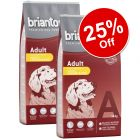 2 x 14kg Briantos Dry Dog Food - 25% Off!*