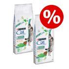 2 x 15 kg Cat Chow kissan kuivaruoka 20 % alennuksella!