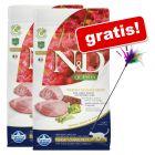 2 x 1,5 kg Farmina N&D + Cannetta gratis!