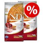 2 x 1,5 kg Farmina N&D gazdaságos csomag