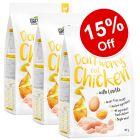 3 x 3kg Greenwoods Adult Dry Cat Food - 15% Off!*
