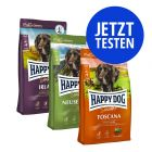 """3 x 4 kg Happy Dog Supreme """"Kulinarische Weltreise"""""""