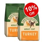 2 x 10kg James Wellbeloved Dry Cat Food - 10% Off!*