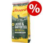 2 x 15 kg Josera Lachs & Kartoffel getreidefrei zum Sonderpreis!