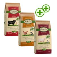 3 x 1.5kg Lukullus Mixed Pack Dry Dog Food - Triple zooPoints!*