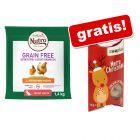 2 x 1,4 kg Nutro Grain Free Adult + 10 g Xmas Snack liofilizzato gratis!