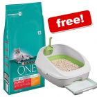 2 x 6kg Purina ONE Chicken Dry Cat Food + Breeze Cat Litter System Free!*