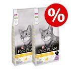 2 x 10 kg PURINA PRO PLAN Katzenfutter trocken zum Sonderpreis!