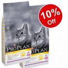 2 x 10kg Purina Pro Plan Light Cat Optilight - 10% off!*