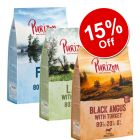 3 x 1kg Purizon Adult Grain-free Mixed Packs Dry Dog Food - 15% Off!*