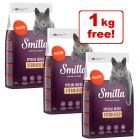 3 x 1kg Smilla Adult Sterilised Poultry - 2 + 1 Free!*