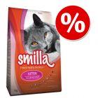 2 x 1 kg Smilla-kuivaruokaa erikoishintaan!