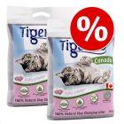 2 x 12 kg Tigerino Canada macskaalom gazdaságos csomagban