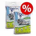 2 x 12 kg Tigerino Canada Style macskaalom gazdaságos csomagban