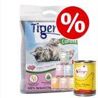 2 x 12kg Tigerino Canada + 6 x 410g Feringa - Special Bundle Price!*