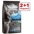 2 + 1 δωρεάν! 3 x 2 kg Wild Freedom Ξηρά Τροφή