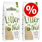2 x 30l Greenwoods Plant Fibre Natural Clumping Litter - Special Price!