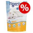 6 x 5 l Tigerino Crystals macskaalom gazdaságos csomag