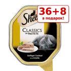36 + 8 в подарок! 44 x 85 г Megapack Sheba влажный корм для кошек