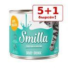 5 + 1 ΔΩΡΟ! 6 x 140 ml Smilla Cat Drink