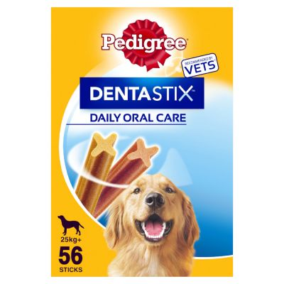 140 x Pedigree Dentastix Daily Oral Care Dog Snacks - 112 + 28 Free!*