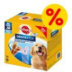 112 x Pedigree Dentastix/Dentastix Fresh zum Sonderpreis