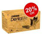 2 x Purina Dentalife Daily Dental Care Dog Snacks - 20% Off!*
