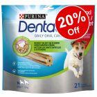 4 x Purina Dentalife Dog Snacks Mega Pack - 20% Off!*