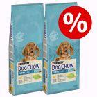 2 x 14 кг Purina Dog Chow со скидкой 15%