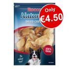 10 x Rocco Natural Dried Cows' Ear Dog Chews - Only €4.50!*