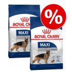 Икономична опаковка: 2 x големи опаковки суха храна Royal Canin Size