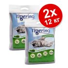 2 x 12 кг Tigerino Special Edition постелка за котки