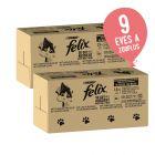 2 x 120 x 85 g Felix jumbo pack 10% kedvezménnyel!