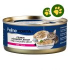2x zooPisteitä: Feline Porta 21 kissanruoka 24 x 156 g