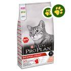2x zooPisteitä: 10 kg PURINA PRO PLAN -kissanruoka