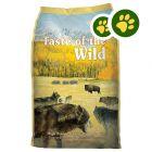 2x zooPisteitä: Taste of the Wild - 12.2 kg