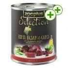 2x zooPisteitä: zooplus Selection koiranruoka 24 x 800 g!