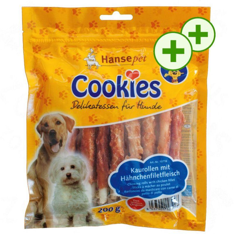 2x zooPlusPisteitä: Cookie's Delikatess -purutikut
