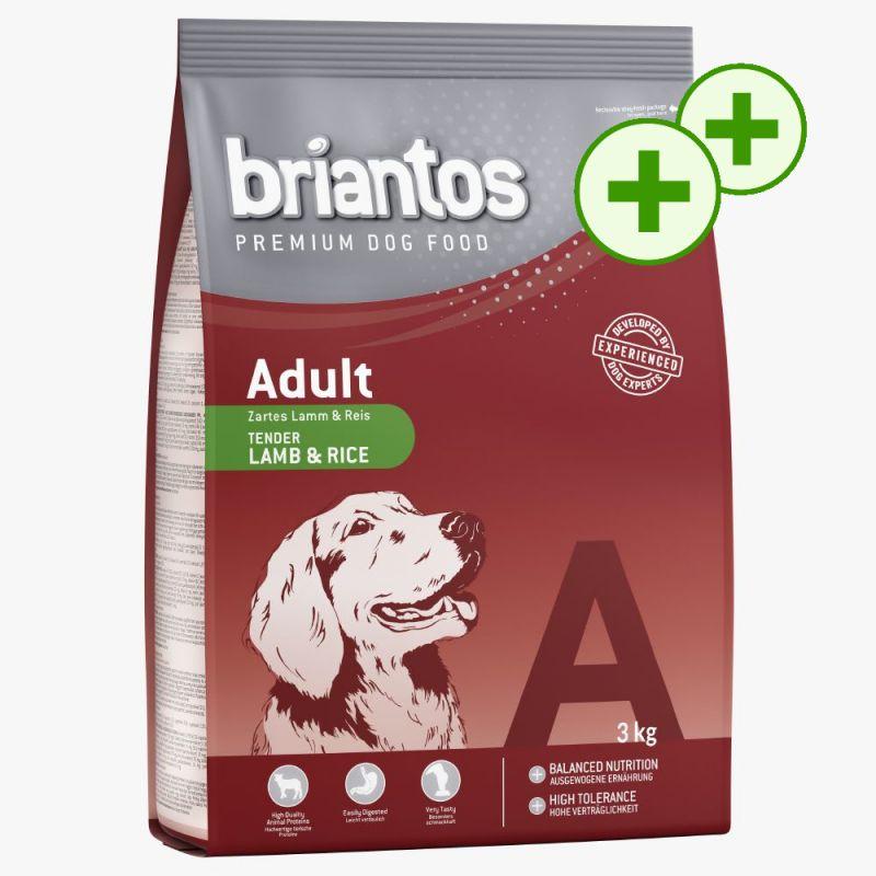 2 x zooPoint: Briantos Adult Tørfoder i prøvepakke