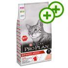 2x zooPoäng på 10 kg PURINA PRO PLAN kattfoder